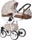 Детская универсальная коляска Riko Nano Ecco 2 в 1 (06/mocca) -
