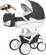 Детская универсальная коляска Riko Brano Luxe 2 в 1 (06/anthracite) -
