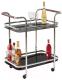 Сервировочный столик Halmar BAR7 (черный) -