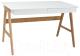 Письменный стол Signal Scandic B1 (дуб/белый) -
