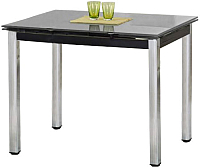 Обеденный стол Halmar Logan (черный) -