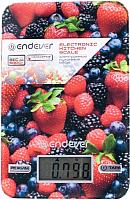 Кухонные весы Endever KS-528 (ягоды) -