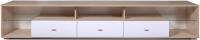 Тумба Олмеко Алабама 06.108 (дуб сонома/белый глянец/снег) -