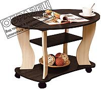 Журнальный столик Олмеко Сатурн-М05 (венге/дуб линдберг) -