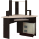 Компьютерный стол Олмеко ПКС-7 (венге/дуб линдберг) -