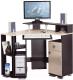 Компьютерный стол Олмеко Костер-7 (венге/клен азия) -