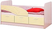Кровать-тахта Олмеко Дельфин 06.222 (ваниль) -