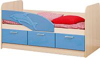 Кровать-тахта Олмеко Дельфин 06.222 (голубой) -