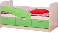 Кровать-тахта Олмеко Дельфин 06.223 (эвкалипт) -