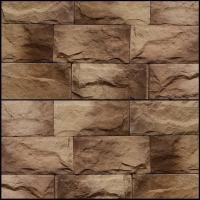 Декоративный камень Royal Legend Мирамар широкий бежевый с коричневым 08-205 (200x100x07-15) -