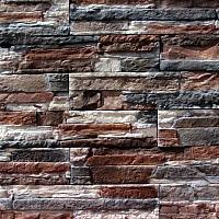 Декоративный камень Royal Legend Афины бежево-коричневый с серым 22-189 (375x85x5-12) -