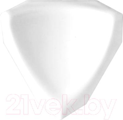 Уголок керамический М-Квадрат 620000 (35x35x35, белый)