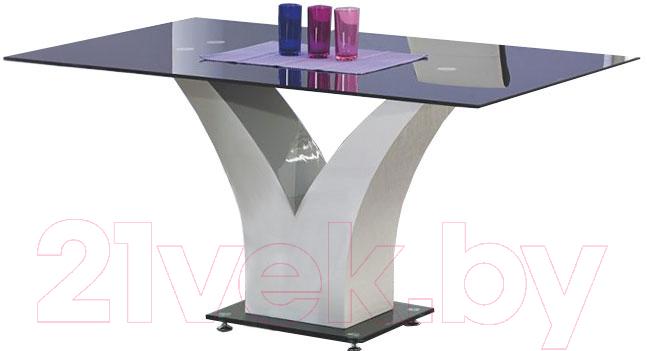 Купить Обеденный стол Halmar, Vesper 160x90 (черный), Китай