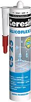 Герметик силиконовый Ceresit CS 25 (280мл, серебряно-серый) -