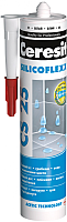 Герметик силиконовый Ceresit CS 25 (280мл, шоколад) -