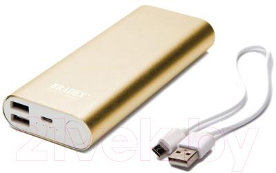 Портативное зарядное устройство Bradex SU 0064 (золотистый)