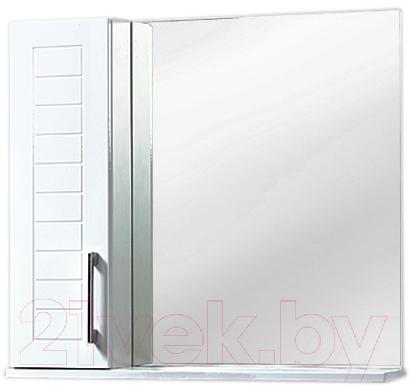 Купить Шкаф с зеркалом для ванной Акваль, Анна 70 / АННА.04.75.00.L, Беларусь