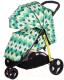 Детская прогулочная коляска Babyhit Trinity (Green Rhombus) -