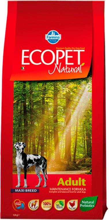 Купить Корм для собак Farmina, Ecopet Natural Adult Maxi (12кг), Италия