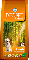 Корм для собак Farmina Ecopet Natural Lamb Medium (12кг) -