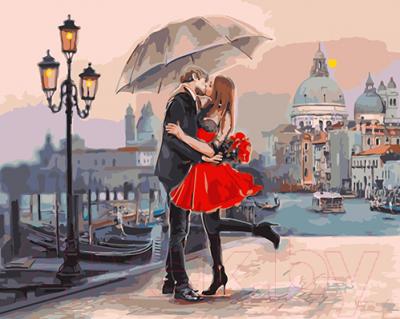Картина по номерам Picasso Влюбленные на мосту (PC4050193)