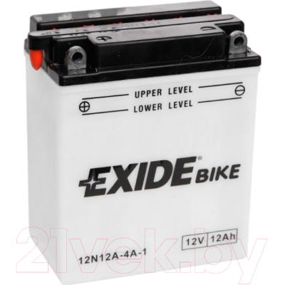 Мотоаккумулятор Exide 12N12A-4A-1 (12 А/ч)