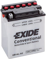 Мотоаккумулятор Exide EB14L-A2 (14 А/ч) -