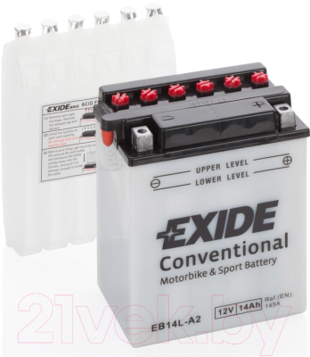 Мотоаккумулятор Exide EB14L-A2 (14 А/ч)