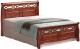 Двуспальная кровать Signal Genewa 180x200 (античная черешня) -