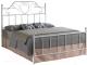 Двуспальная кровать Signal Lima 160x200 (белый) -
