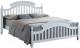 Полуторная кровать Signal Lizbona 140x200 (белый) -