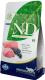 Корм для кошек Farmina N&D Grain Free Cat Lamb & Blueberry Adult (1.5кг) -