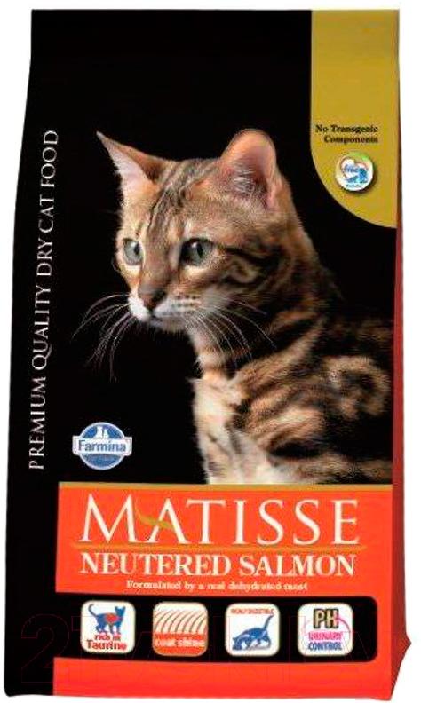 Купить Корм для кошек Farmina, Matisse Neutered Salmon (1.5кг), Италия