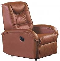 Кресло-реклайнер Halmar Jeff (коричневый) -