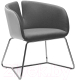 Кресло мягкое Halmar Pivot (белый/серый) -