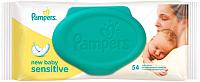 Влажные салфетки Pampers New Baby Sensitive (54шт) -