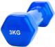 Гантель Bradex SF 0164 (3кг, синий) -