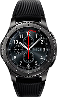 Умные часы Samsung Galaxy Gear S3 Frontier / SM-R760 (темно-серый) -