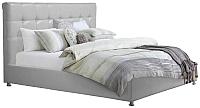 Двуспальная кровать ГрандМанар ЛИ-021.04 180x200 (Unica Palha) -