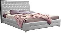 Двуспальная кровать ГрандМанар Карина КА-006.03 160x200 (Unica Palha) -