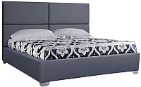 Двуспальная кровать ГрандМанар Катарина КА-001.03 160x200 (Ecotex 117) -