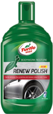 Восстановитель цвета Turtle Wax Wax GL Renew Polish CS06 EN / FG7634 (500мл)