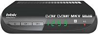 Тюнер цифрового телевидения BBK SMP022HDT2 (темно-серый) -