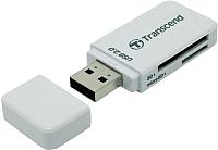 Картридер Transcend TS-RDP5W (белый) -
