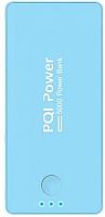 Портативное зарядное устройство PQI i-Power 5000C / 6PPA-06BR0006A (голубой) -
