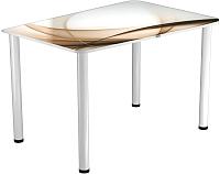 Обеденный стол Васанти Плюс ПРФ 120x80 (белый/111) -