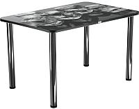 Обеденный стол Васанти Плюс ПРФ 110x70 (хром/98) -