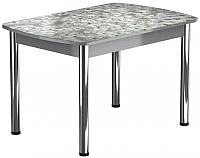 Обеденный стол Васанти Плюс БРФ 100/132x60Р/ОА (хром/117) -