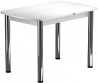 Обеденный стол Васанти Плюс БРП 120x80/3/ОБ (хром/белый) -