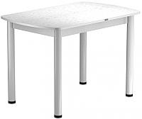 Обеденный стол Васанти Плюс БРП 120x80/3/ОБ (белый/белый) -